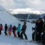 Lyžařský výcvikový kurz sekund v Tauplitzu, březen 2016