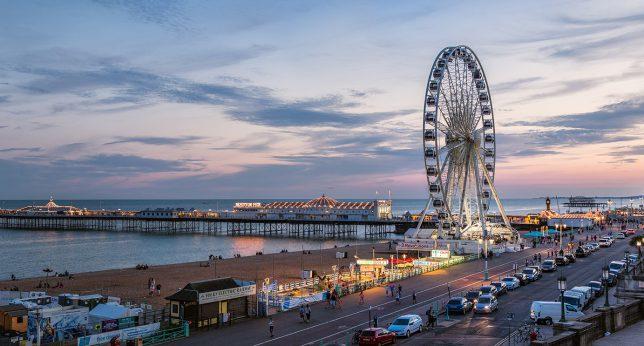 Jazykový kurz kvart - Brighton, Velká Británie, 9. - 15. 10. 2016