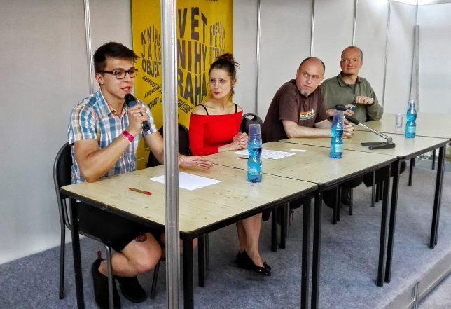 Studentská porota Ceny Česká kniha na knižním veletrhu