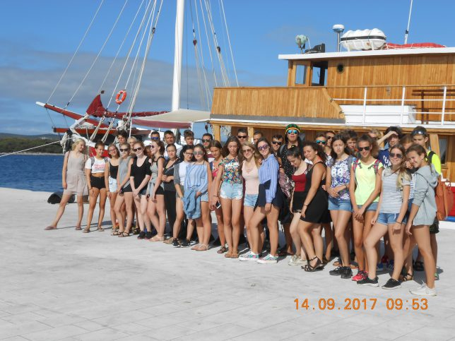 Chorvatsko, Biograd na Moru,  8.-17. 9. 2017