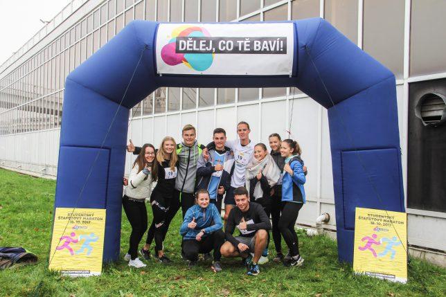 Studentský štafetový maraton - FOTOGALERIE