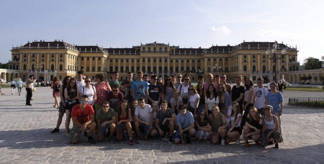 Vlastivědná exkurze na Moravě a ve Vídni