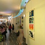 Výstava výtvarných prací studentů