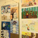 Výstava výtvarných prací našich studentů ve Škodově paláci