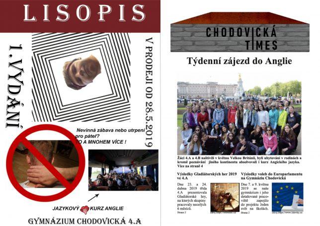 Školní časopisy kvarty A