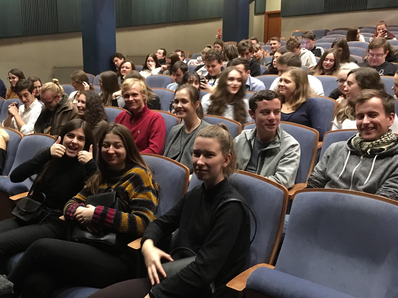 Divadelní představení Audience