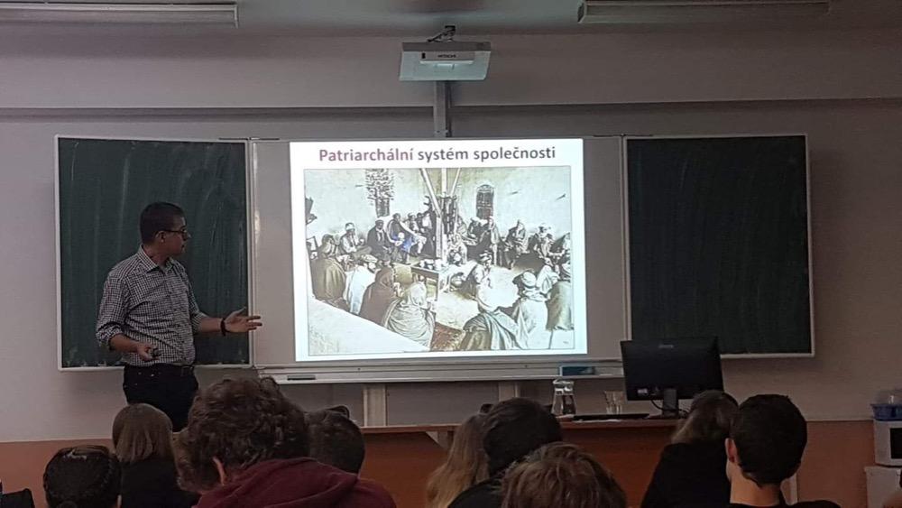 Přednáška B. Turečka