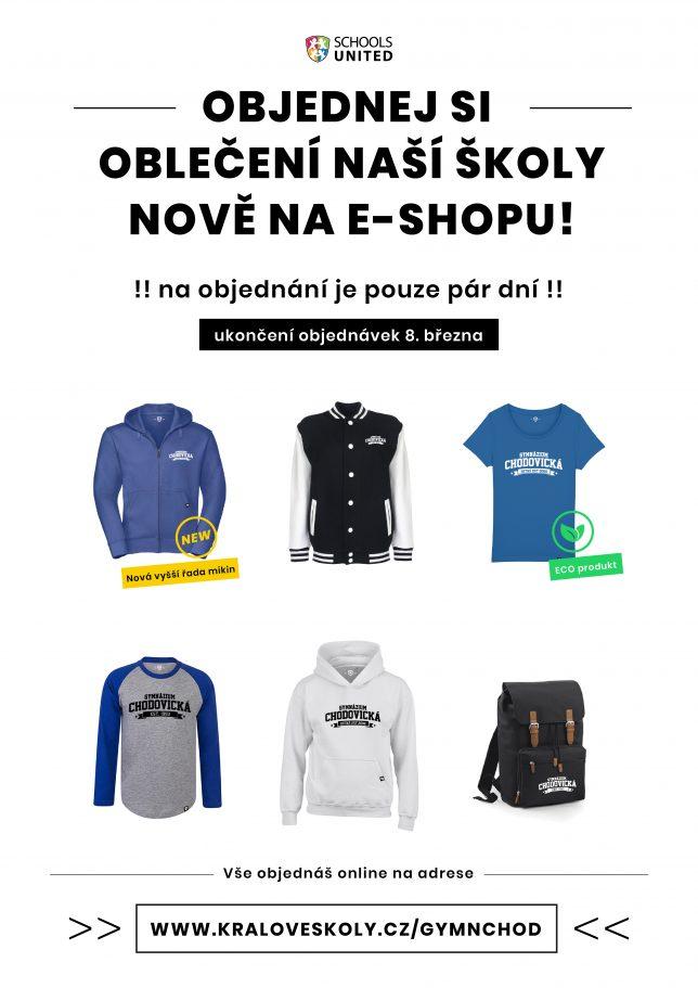 Nová kolekce školního oblečení