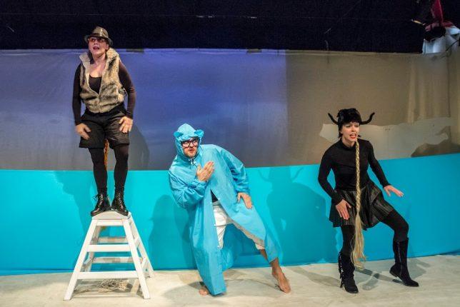 Divadelní představení Straka v říši entropie